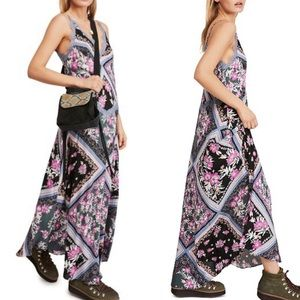 Free People Stevie Printed Maxi Dress Size Small